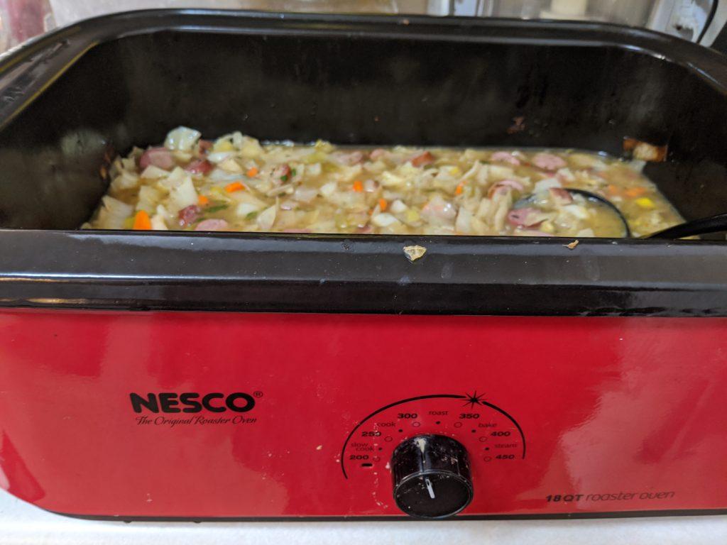 Cabbage Sausage Stew